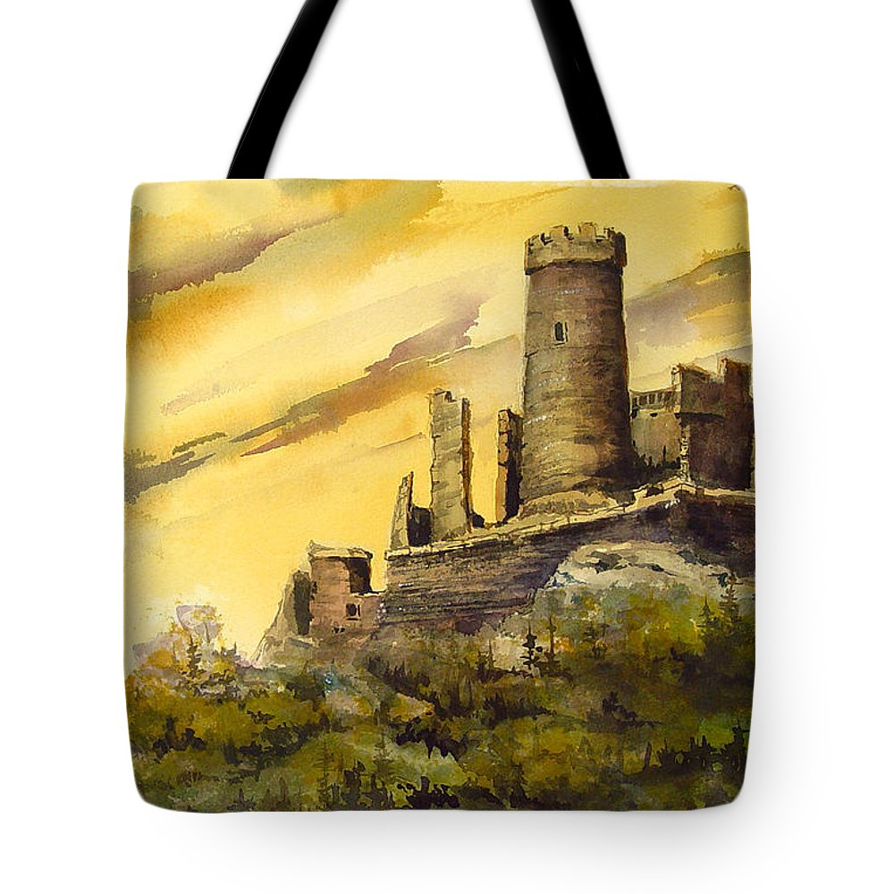 Castle Tote Bags