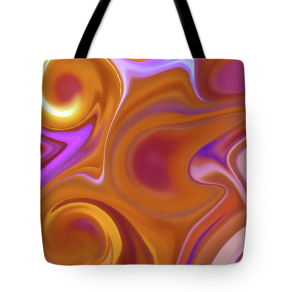 Fusion Tote Bag featuring the digital art Fusion by Art Spectrum