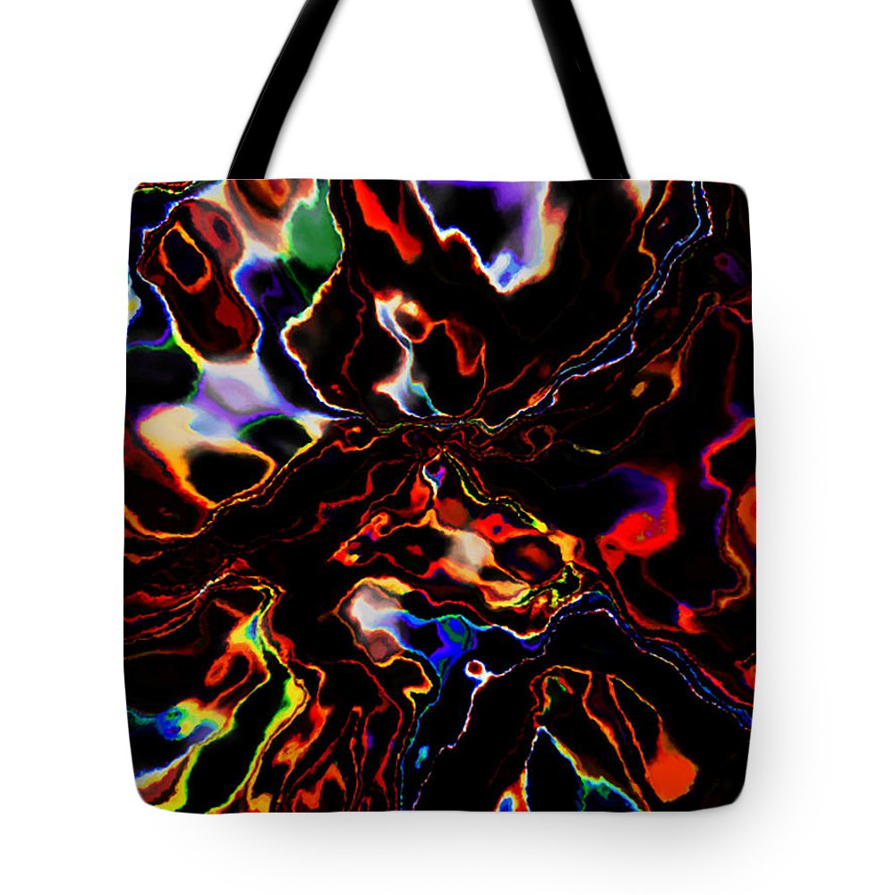 Abstract Tote Bag featuring the photograph Fusion I by Catherine Sprague