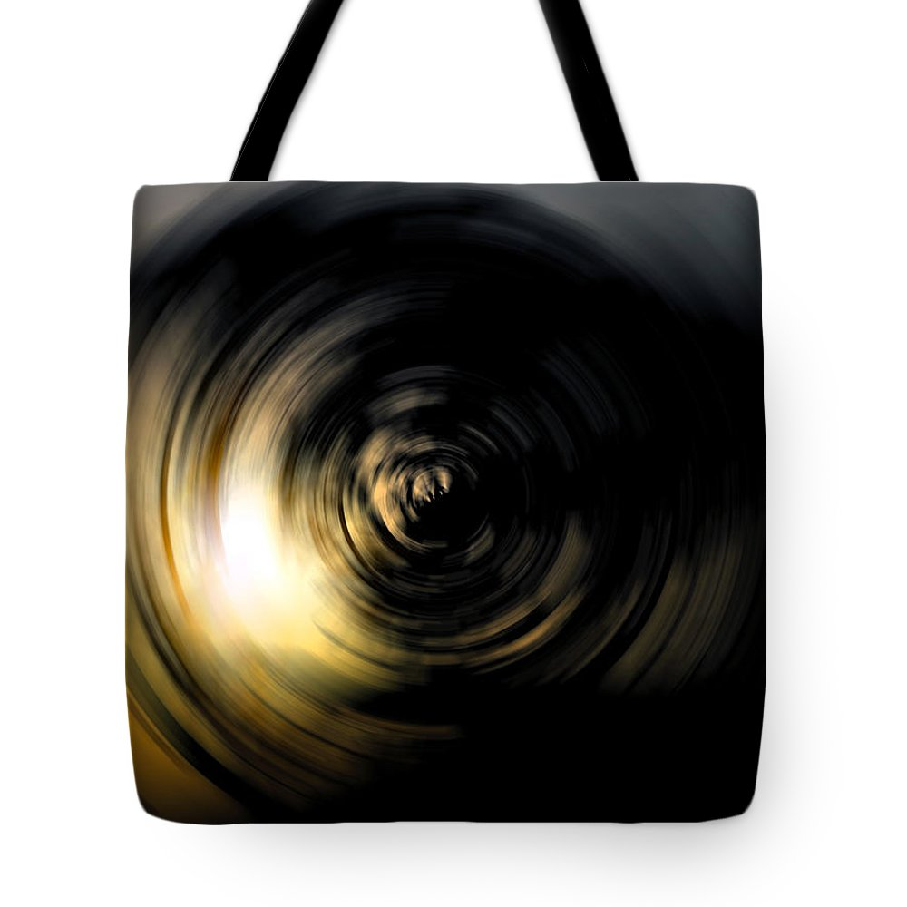 Abstract Tote Bag featuring the digital art Futility by Stacey May