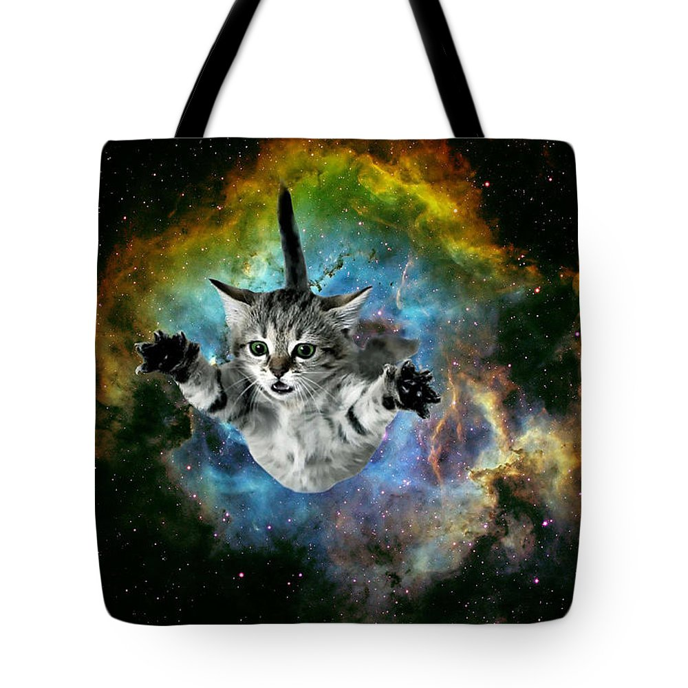 Galaxy Cat Tank Top Cute Kitten Pet Universe Top