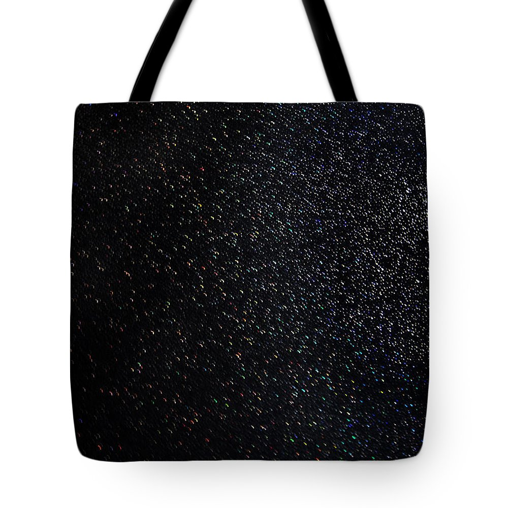 Starry Night Tote Bag featuring the digital art Galaxy. Starry Night by Sofia Metal Queen