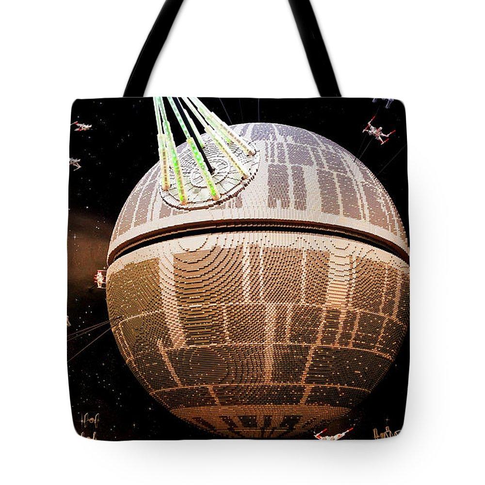 Galaxy Tote Bag featuring the photograph Galaxy Stream by Ana Seminario