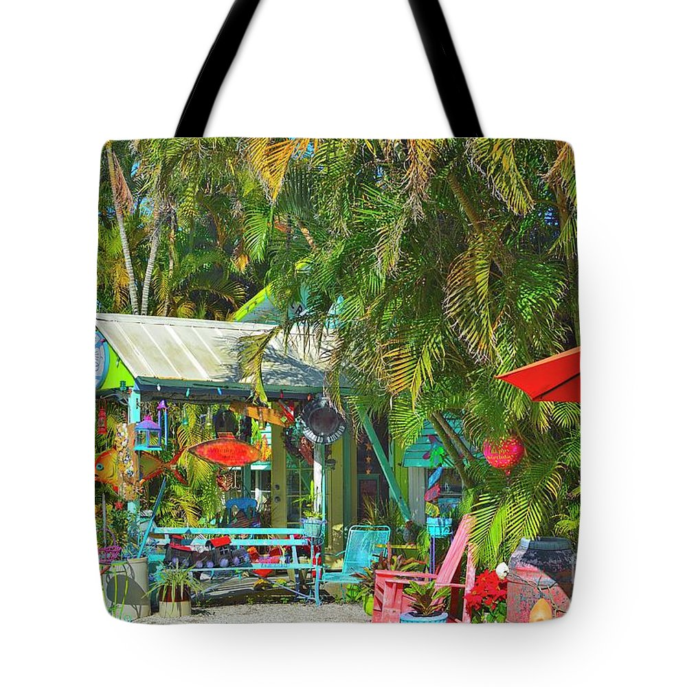 Placida Tote Bag featuring the photograph Gallery by Alison Belsan Horton