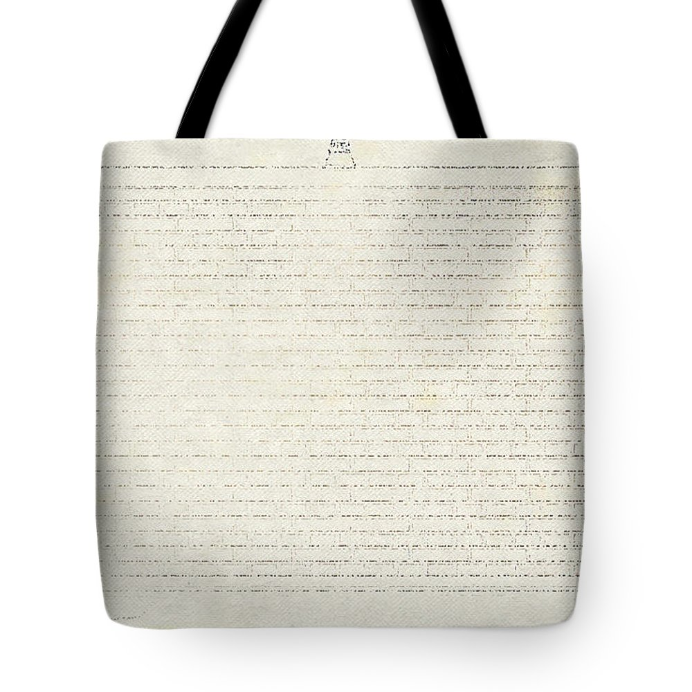 Gallery Tote Bag featuring the digital art Gallery by Lora Battle