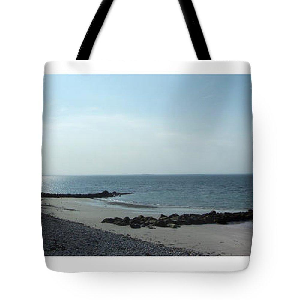 Irish Tote Bag featuring the photograph Galway Bay At Salt Hill Park Galway Ireland by Teresa Mucha