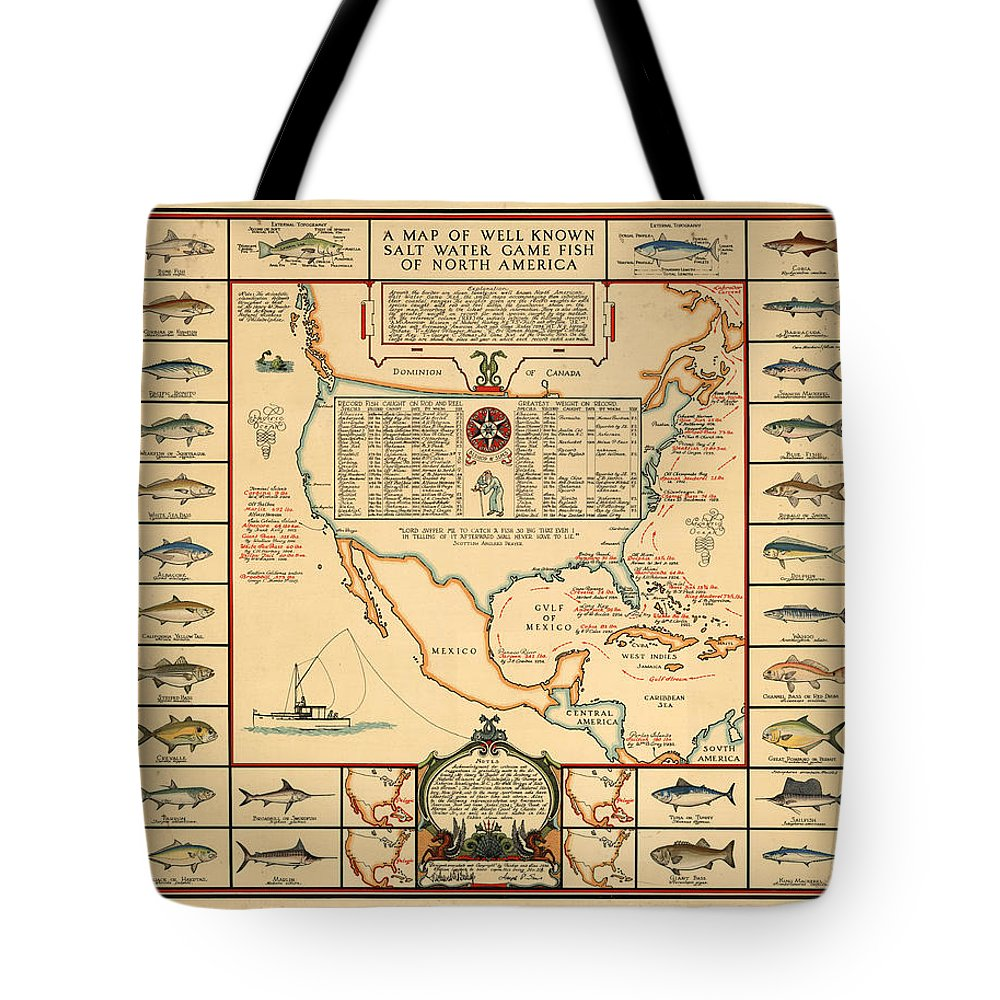 Angling Tote Bags