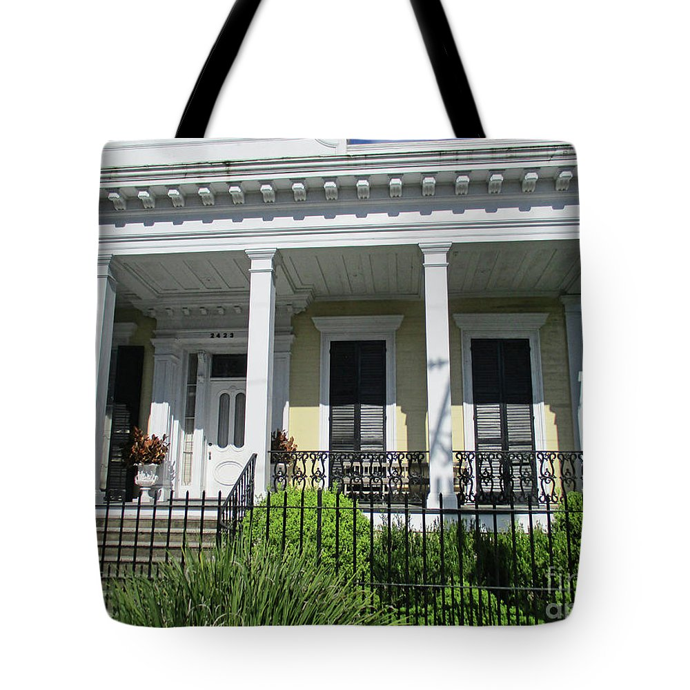 Garden District Tote Bag featuring the photograph Garden District 16 by Randall Weidner