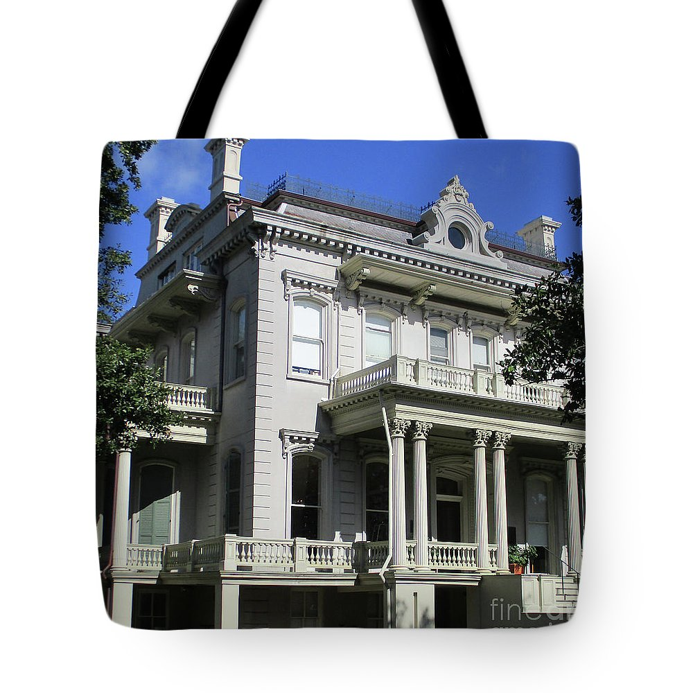 Garden District Tote Bag featuring the photograph Garden District 18 by Randall Weidner