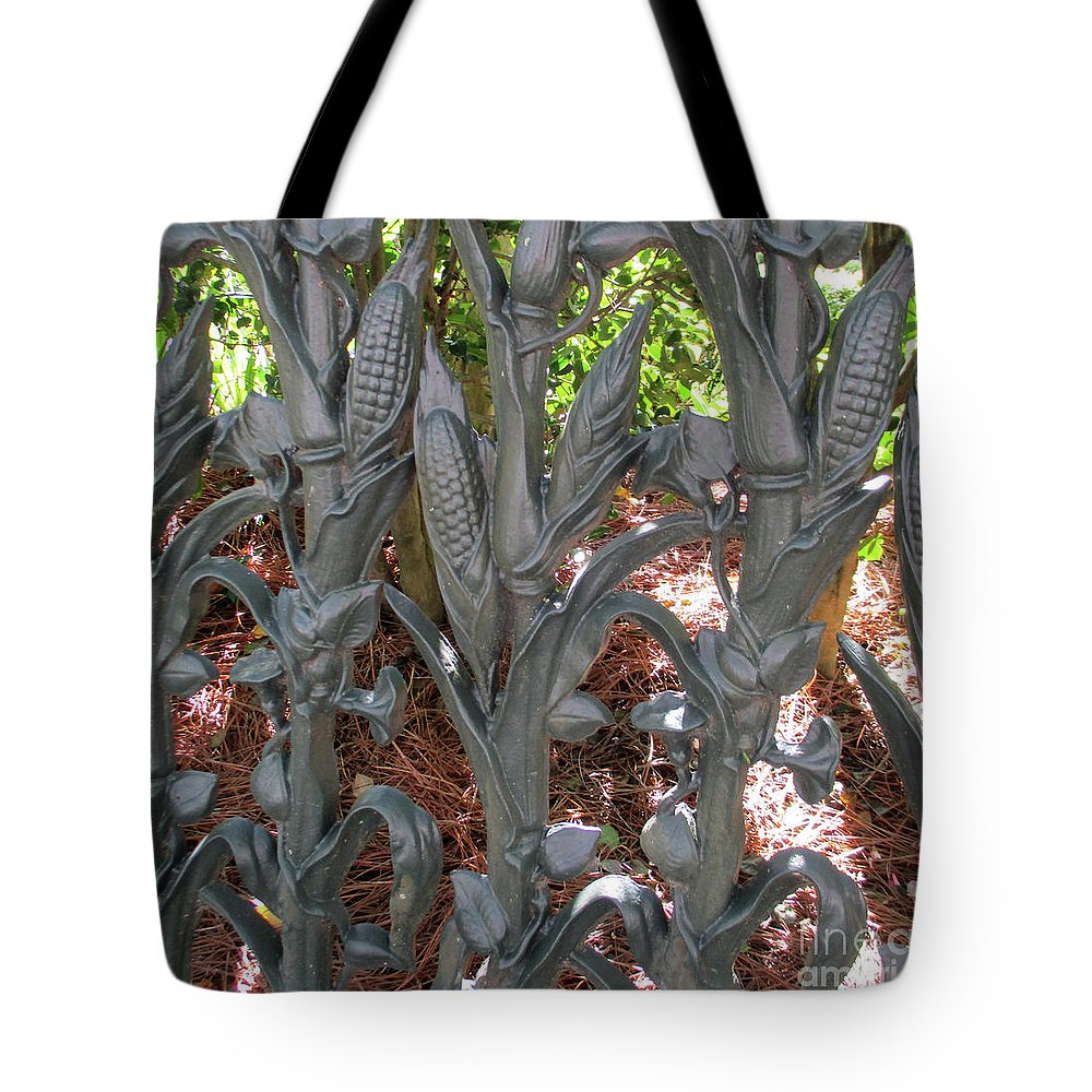 Garden District Tote Bag featuring the photograph Garden District 2 by Randall Weidner