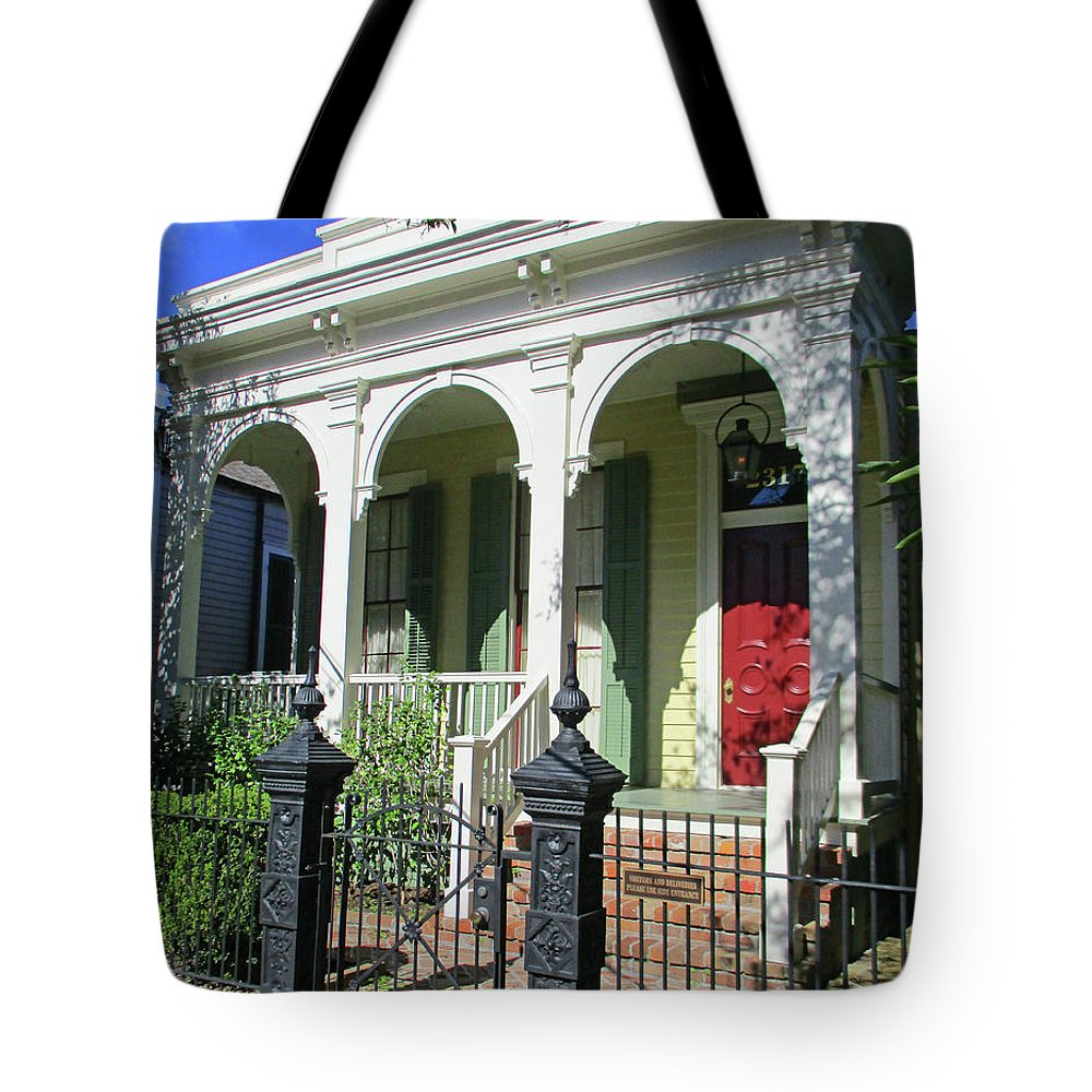 Garden District Tote Bag featuring the photograph Garden District 23 by Randall Weidner