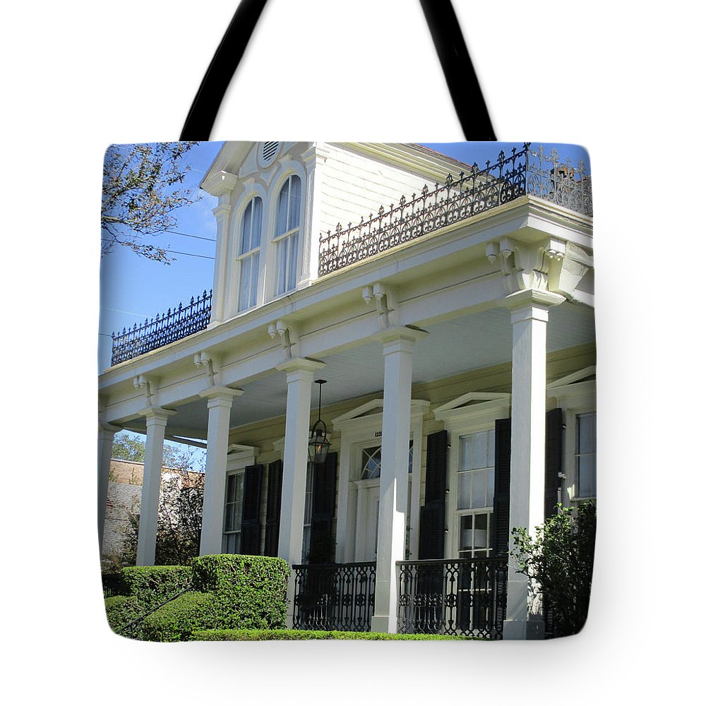 Garden District Tote Bag featuring the photograph Garden District 24 by Randall Weidner