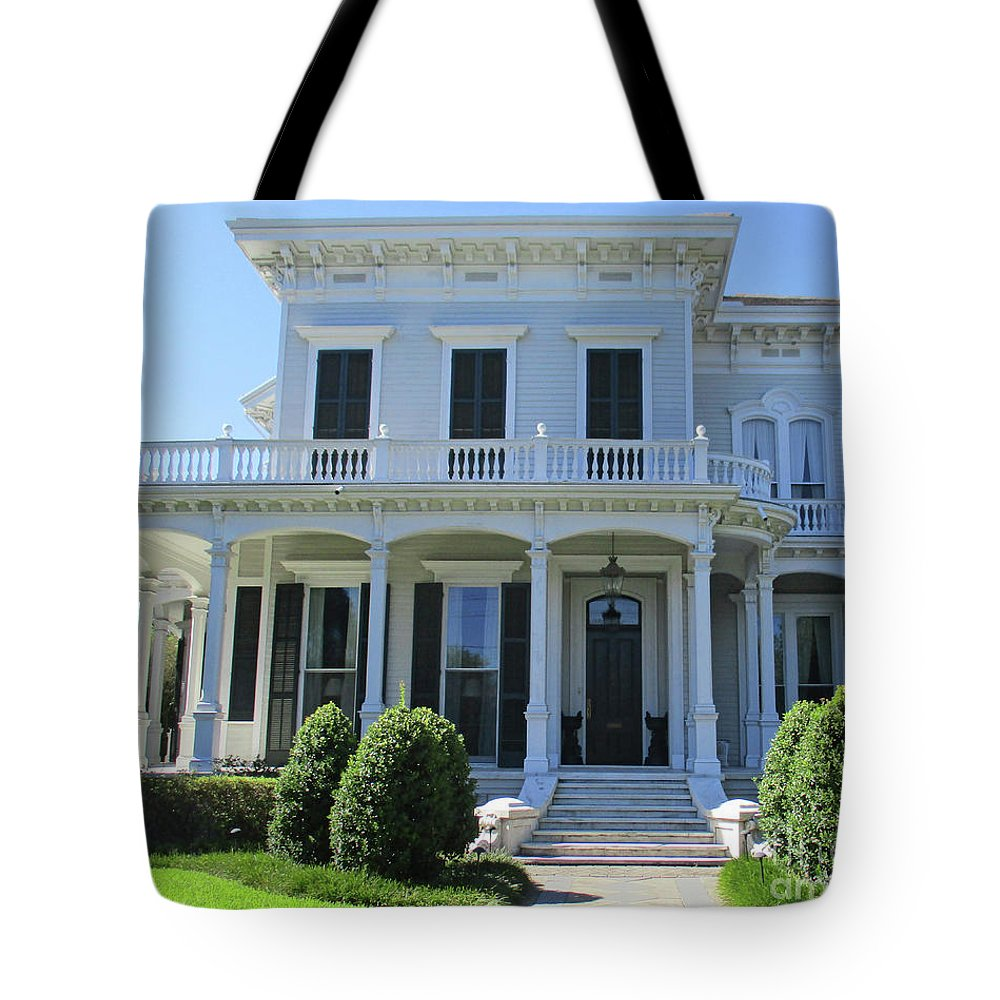 Garden District Tote Bag featuring the photograph Garden District 30 by Randall Weidner