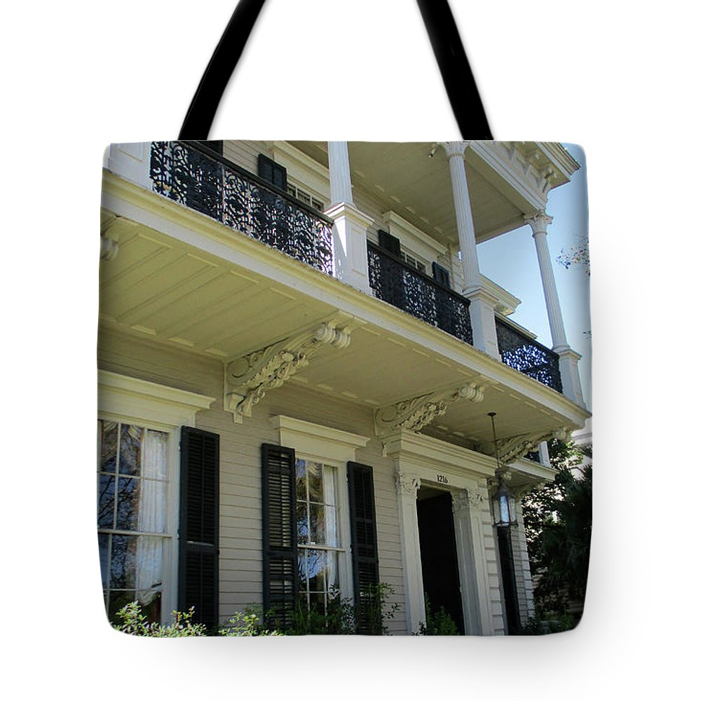 Garden District Tote Bag featuring the photograph Garden District 31 by Randall Weidner