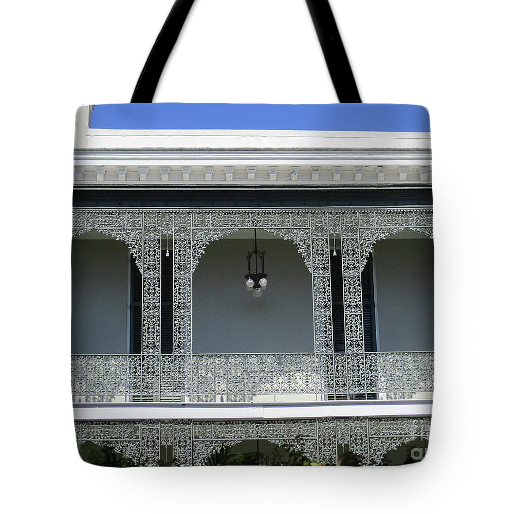 Garden District Tote Bag featuring the photograph Garden District 38 by Randall Weidner