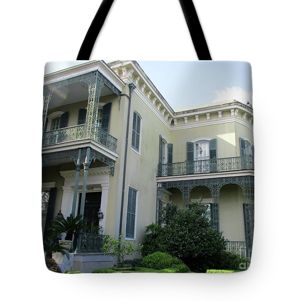Garden District Tote Bag featuring the photograph Garden District 4 by Randall Weidner