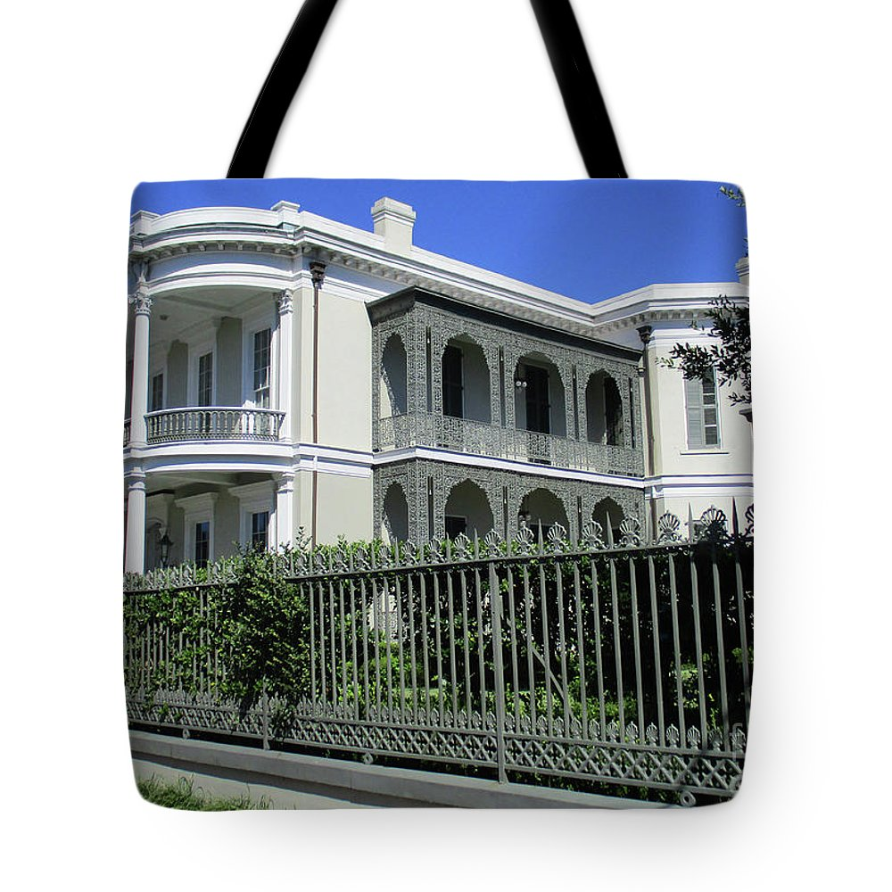 Garden District Tote Bag featuring the photograph Garden District 41 by Randall Weidner