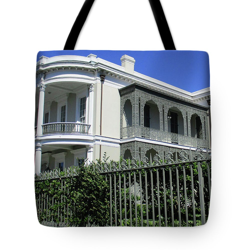 Garden District Tote Bag featuring the photograph Garden District 42 by Randall Weidner