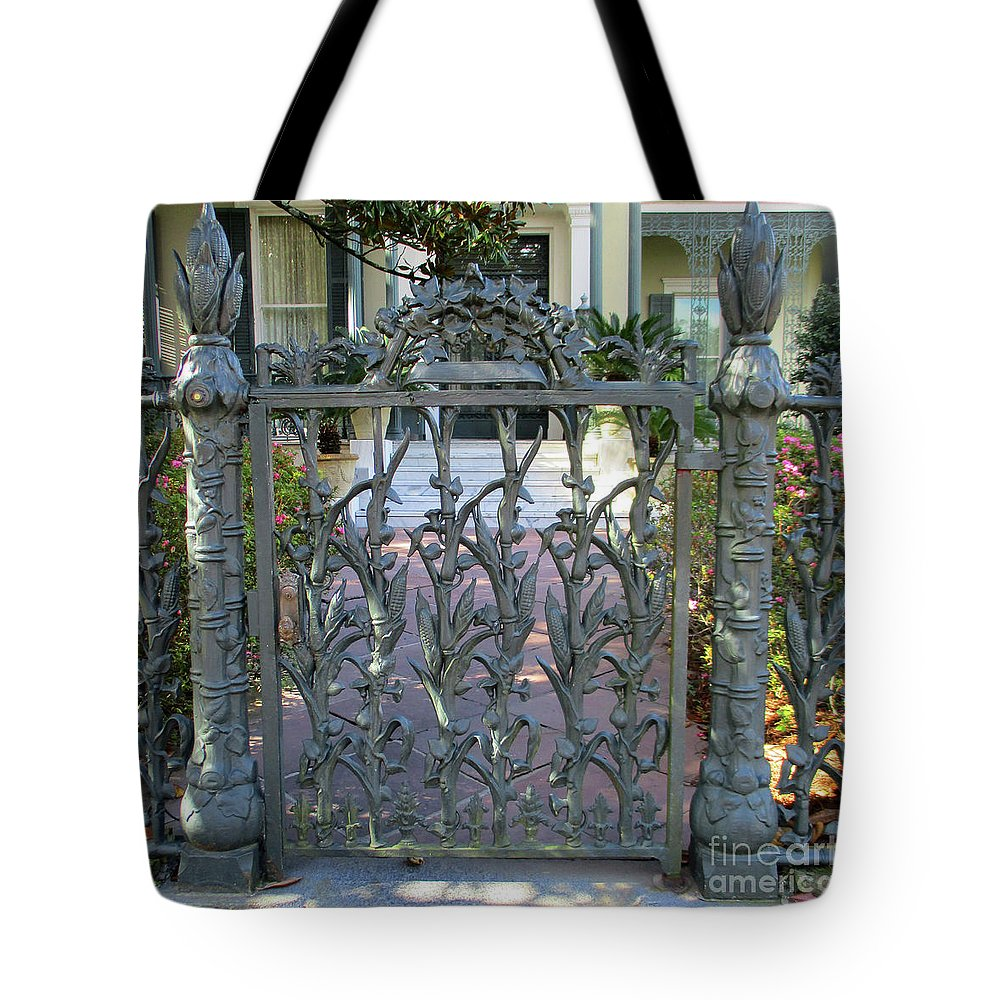 Garden District Tote Bag featuring the photograph Garden District 8 by Randall Weidner