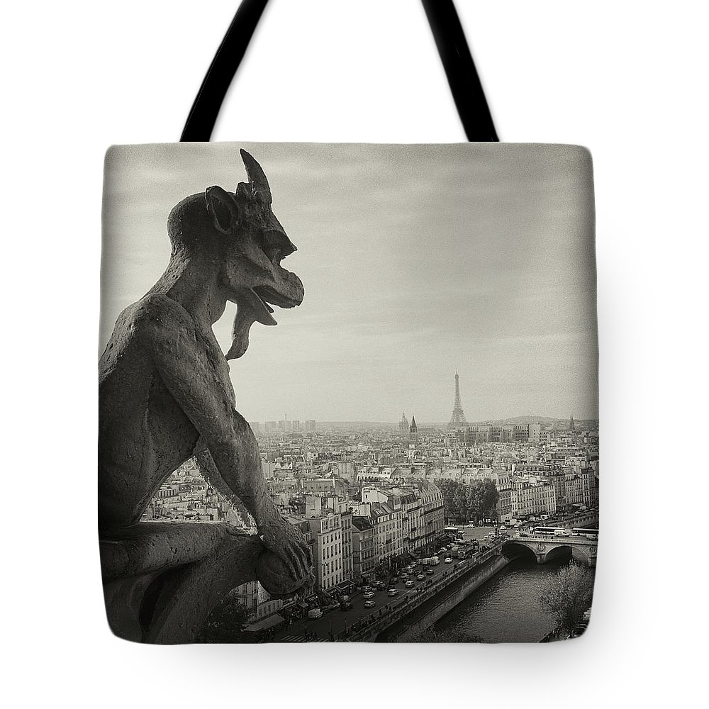 Eiffel Tower Tote Bags