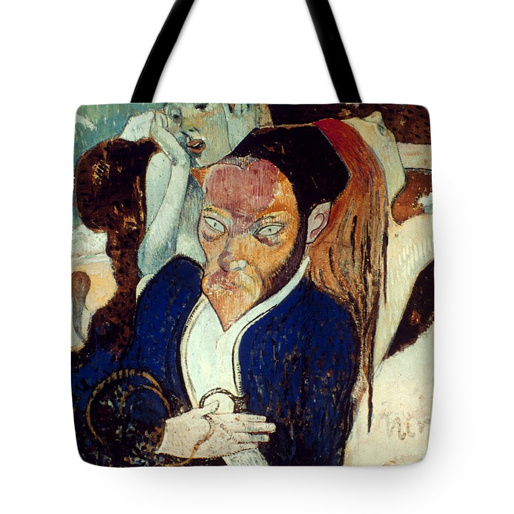 1890 Tote Bag featuring the photograph Gaugin: Nirvana, C1890 by Granger