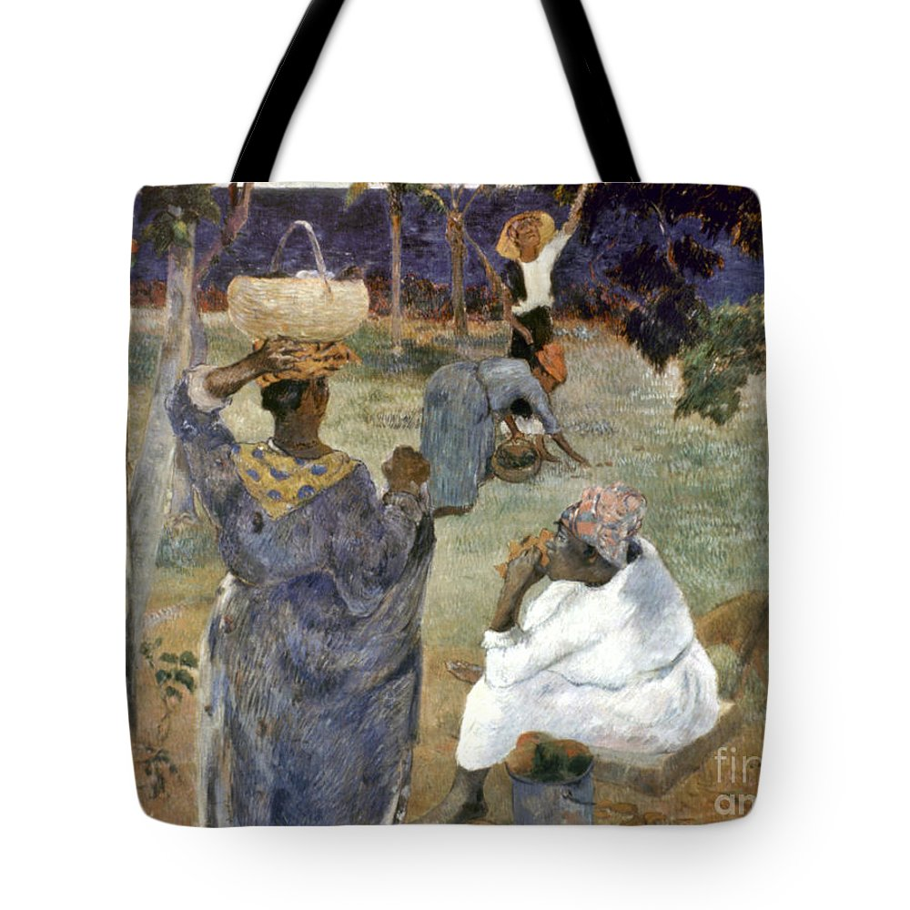 1887 Tote Bag featuring the photograph Gauguin: Martinique, 1887 by Granger
