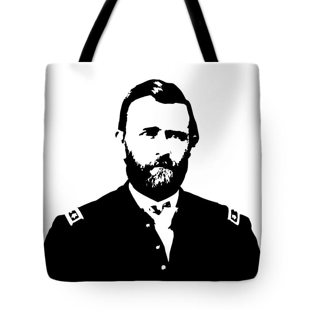 Us Civil War Digital Art Tote Bags