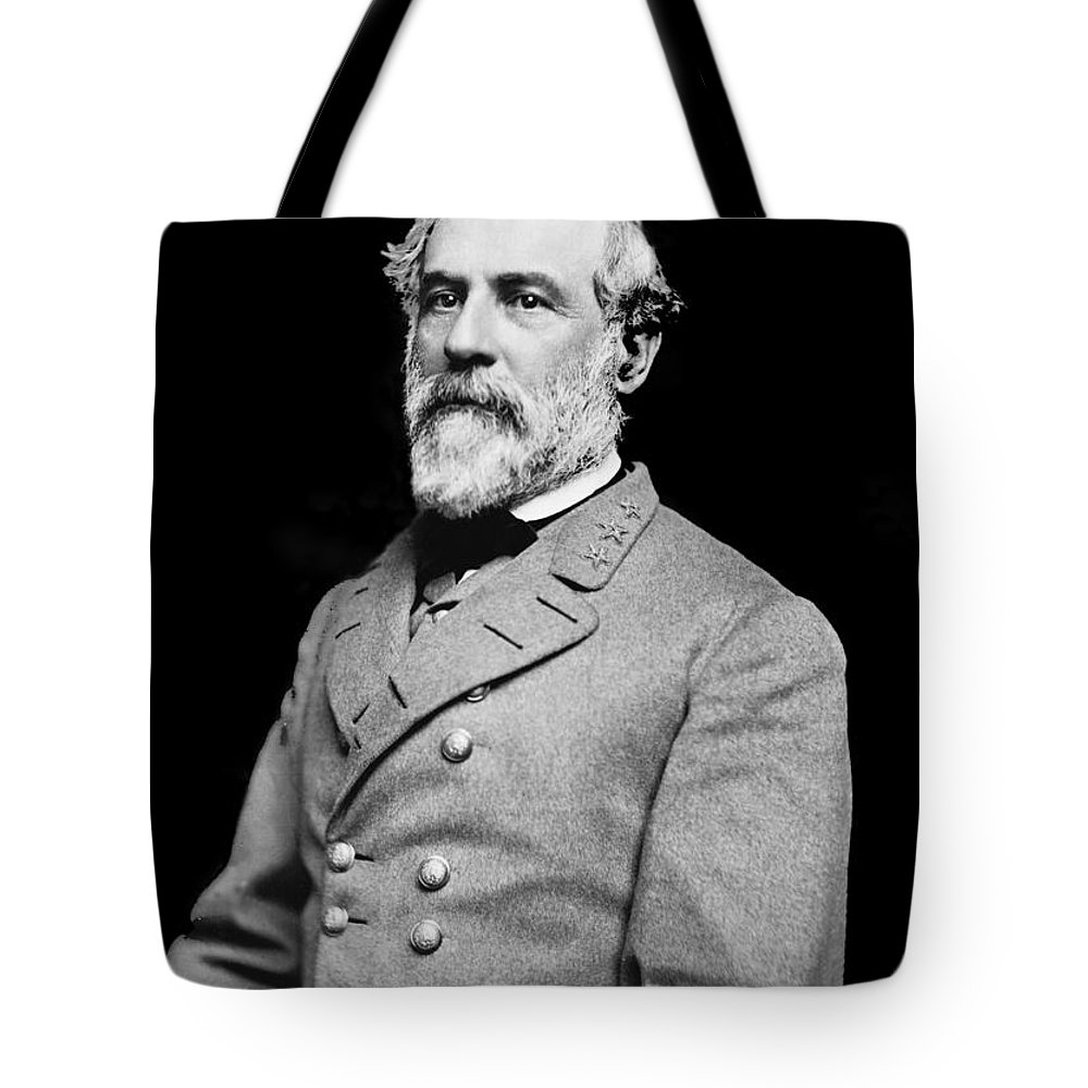 General Robert E Lee Tote Bag featuring the photograph General Robert E Lee - Csa by Paul W Faust - Impressions of Light