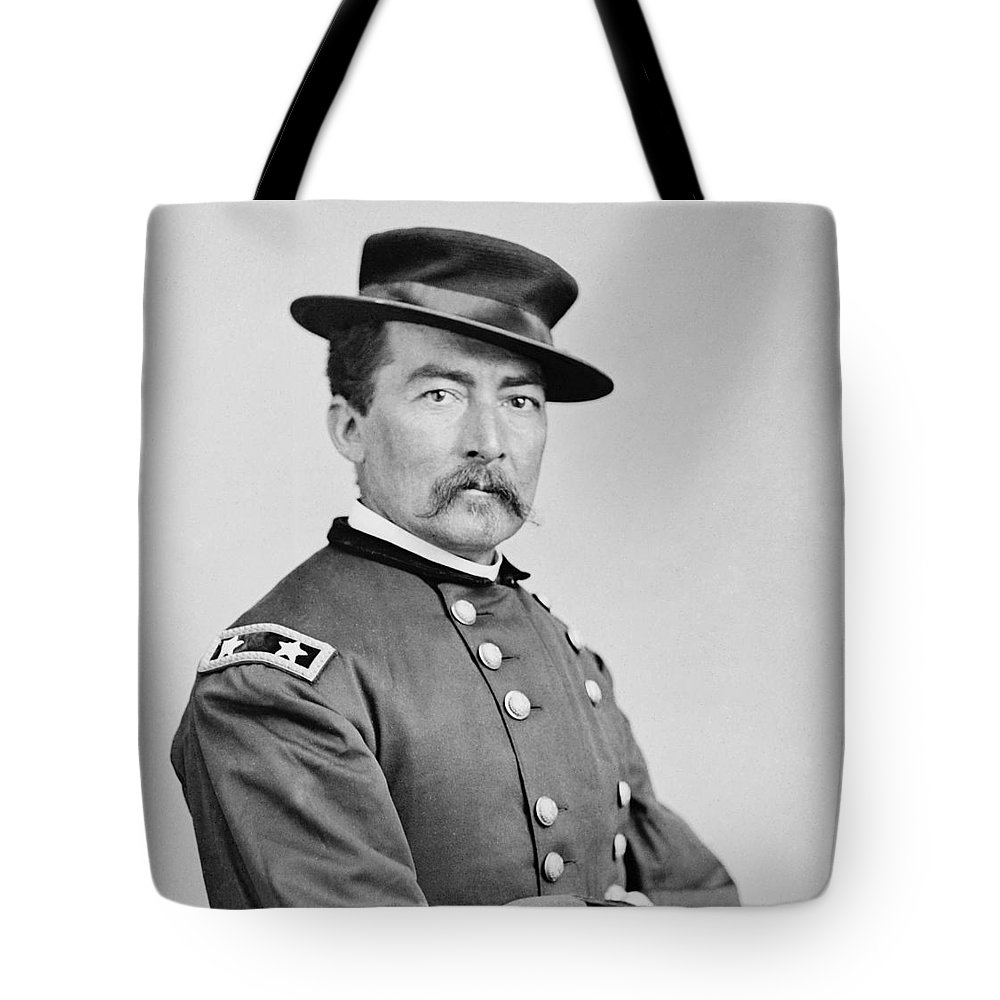 General Tote Bag featuring the photograph General Sheridan by War Is Hell Store