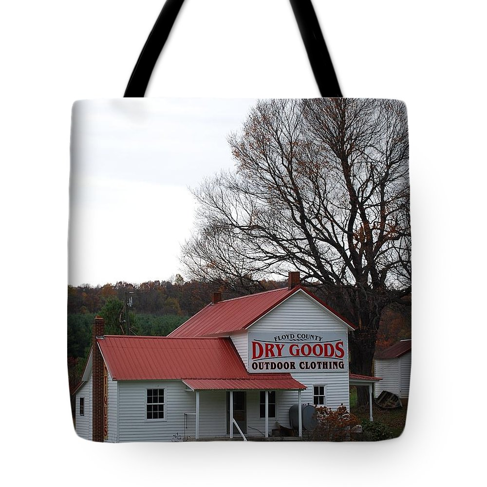Landscape Tote Bag featuring the photograph General Store by Eric Liller