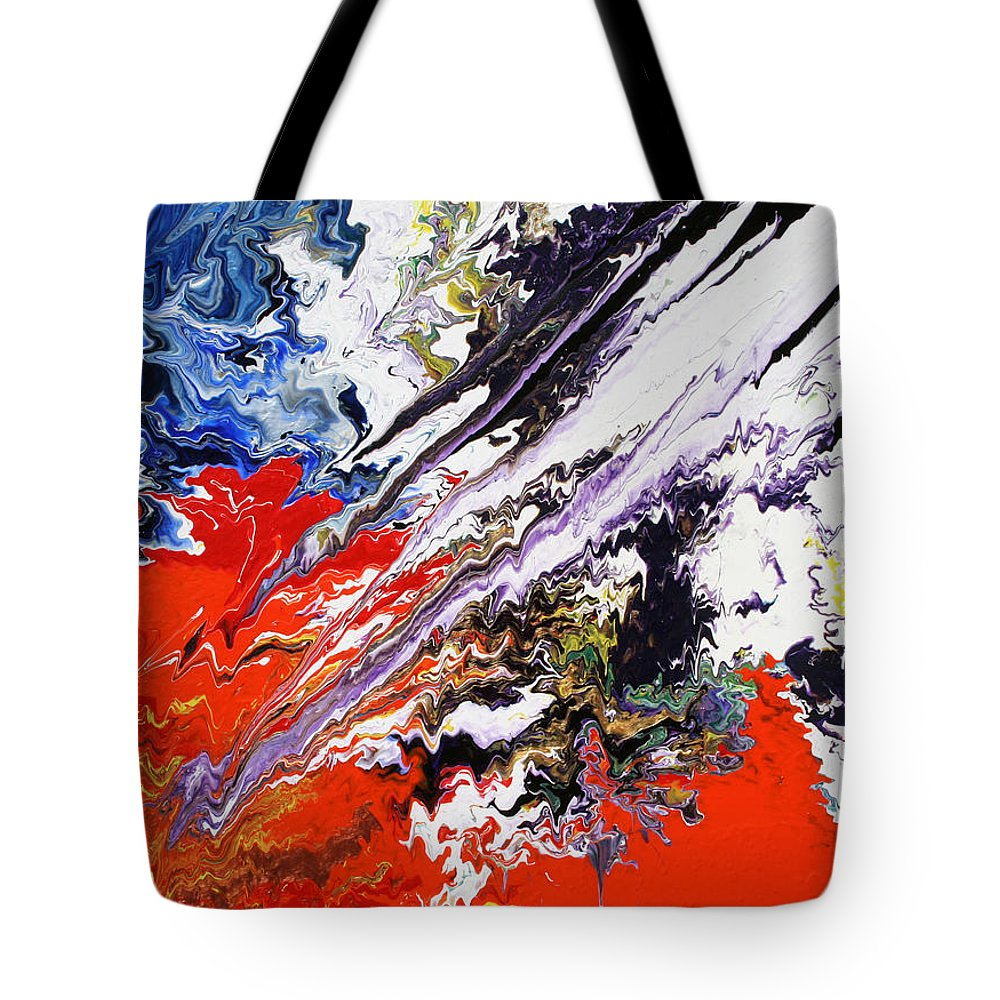 Fusionart Tote Bag featuring the painting Genesis by Ralph White