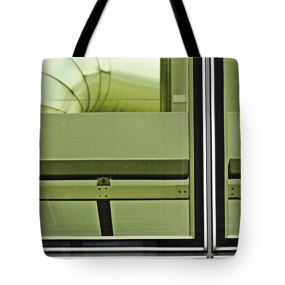 Glass Tote Bag featuring the photograph Geneva Airport 2 by Sarah Loft