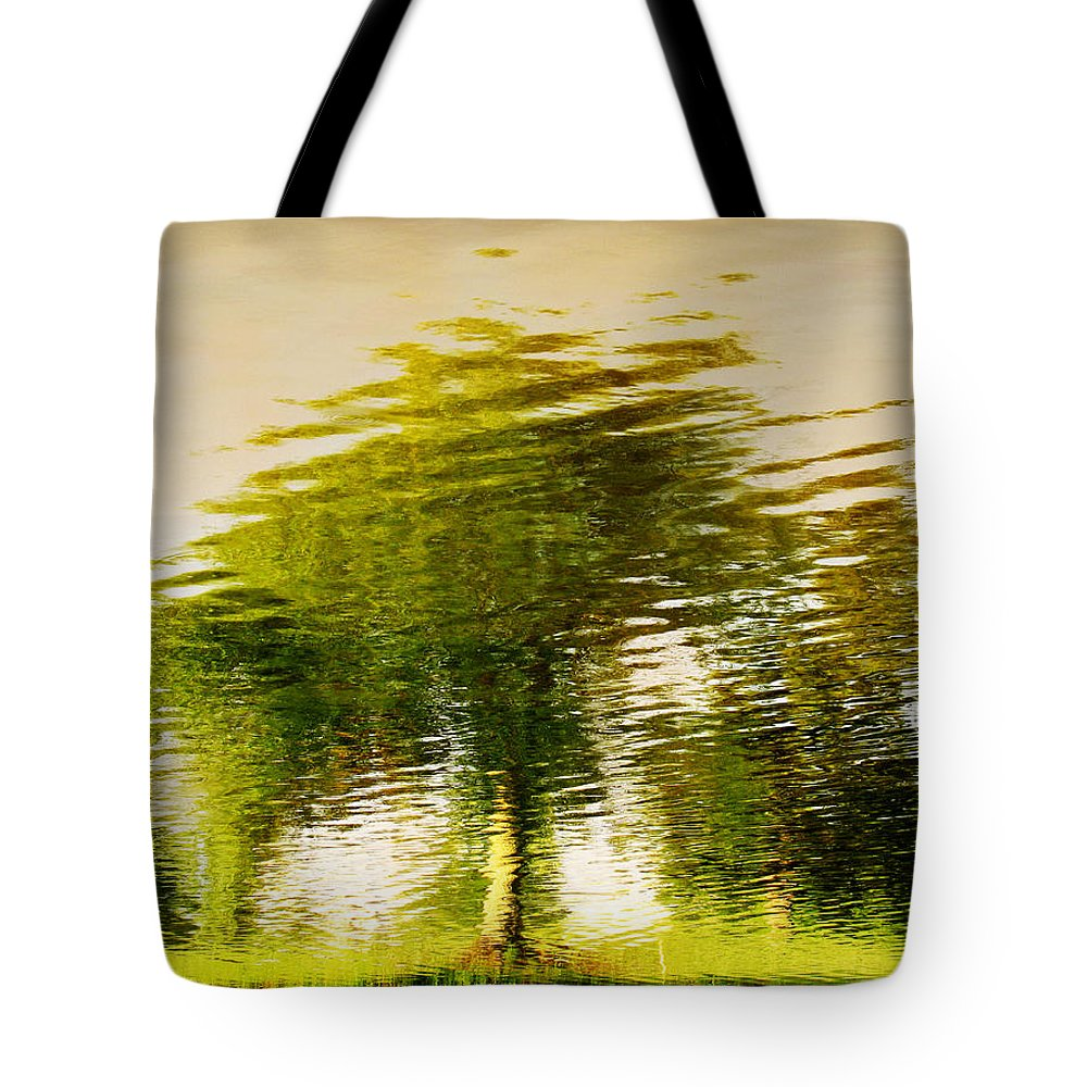 Abstract Tote Bag featuring the photograph Gentle Sun by Dana DiPasquale