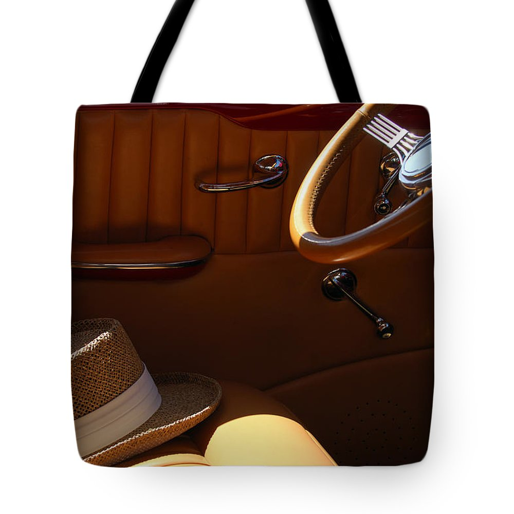 Transportation Tote Bag featuring the photograph Gentleman's Hat by Jill Reger