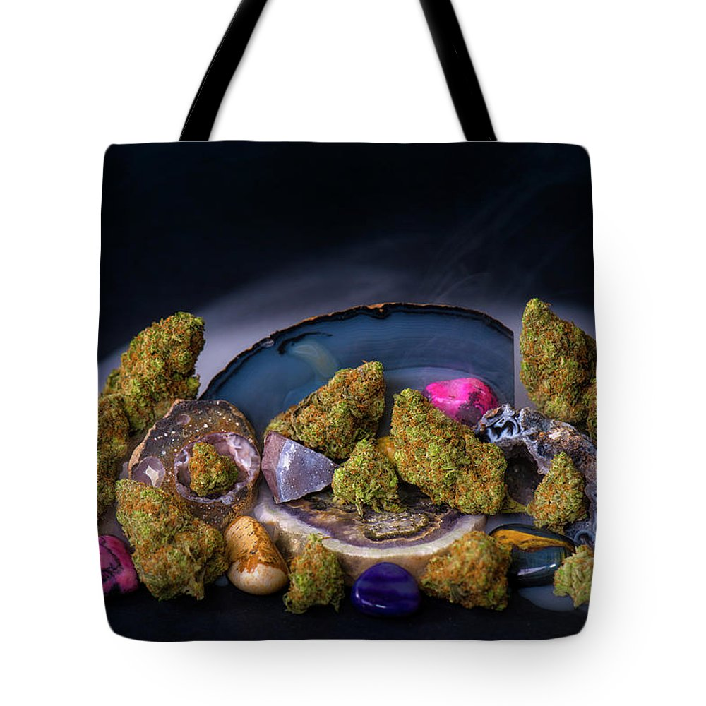 Tote Bag featuring the photograph Geodetojoy2 by Chronic Canvas