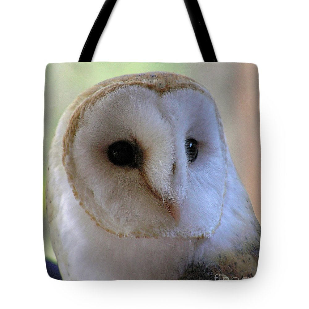 Barn Tote Bag featuring the photograph George by Louise Magno