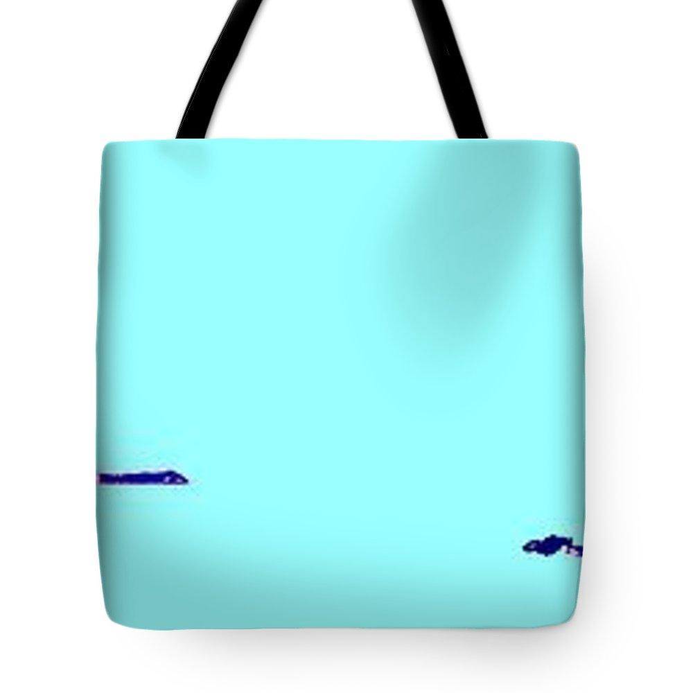 Tote Bag featuring the photograph Georgian Bay Blue by Ian MacDonald