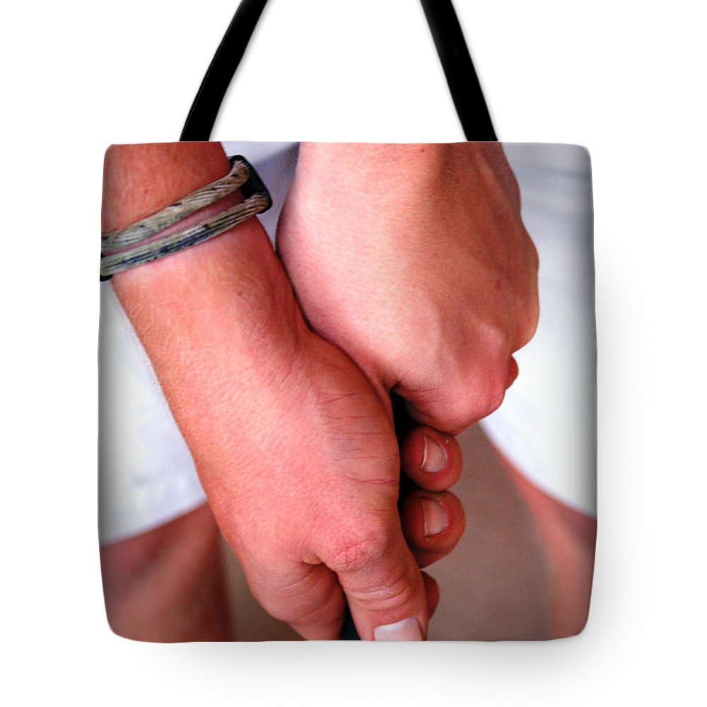 Golf Tote Bag featuring the photograph Get A Grip by Cricket Hackmann