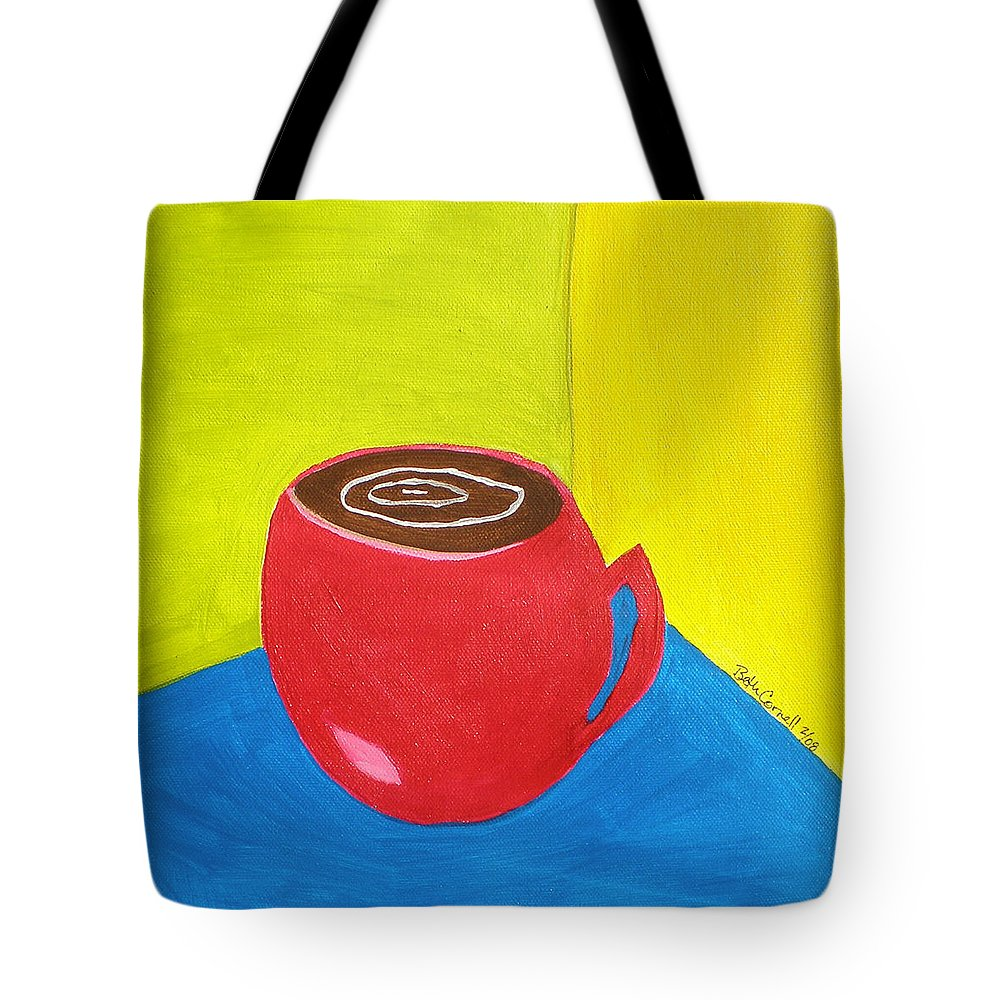 Get Around Tote Bag featuring the painting Get Around It by Beth Cornell
