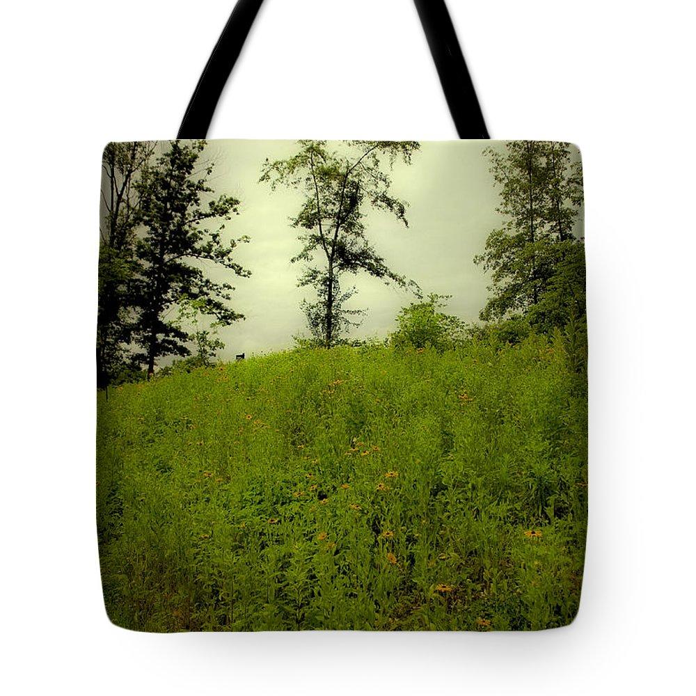 Landscape Tote Bag featuring the photograph Gettysburg Landscape by Madeline Ellis