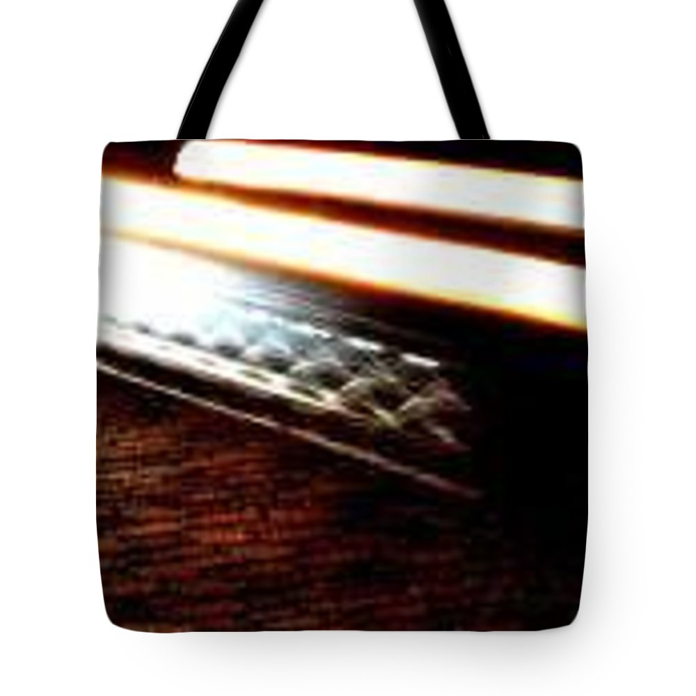 Car Headlights Tote Bag featuring the photograph Ghost by Eduardo Hugo