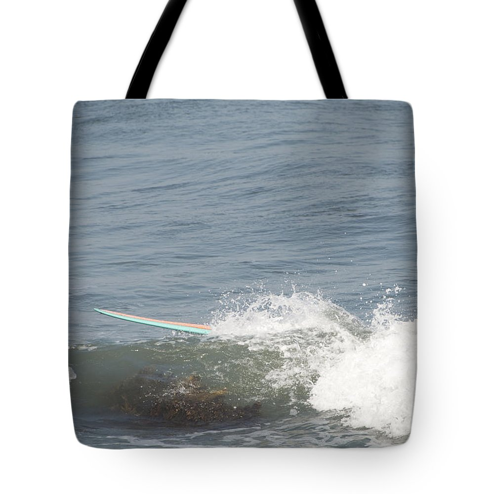 Surfing Tote Bag featuring the photograph Ghost Rider by Steven Natanson