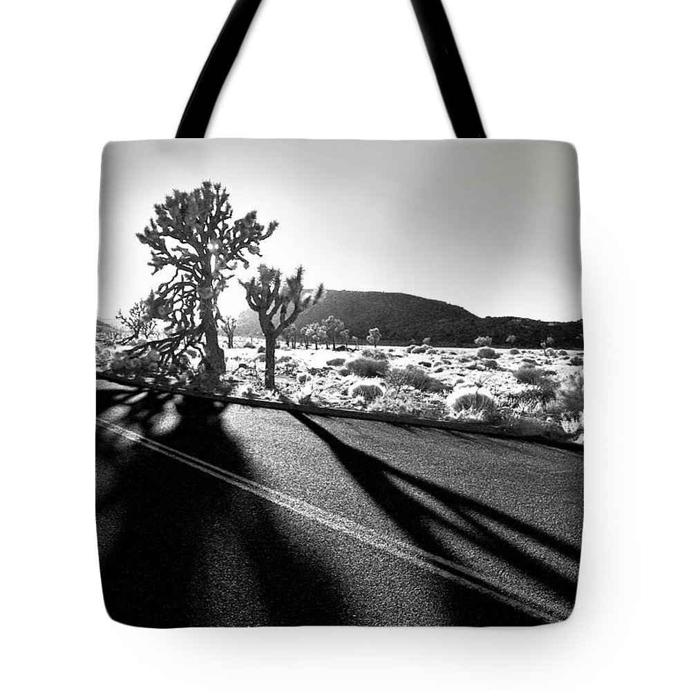 Joshua Tree Tote Bag featuring the photograph Ghouls by Laurie Search