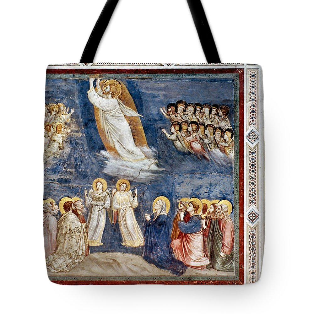 1305 Tote Bag featuring the photograph Giotto: Ascension by Granger