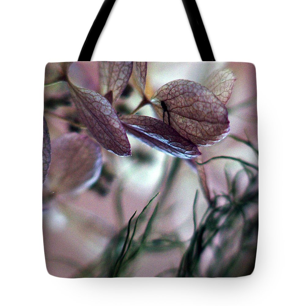 Flowers Tote Bag featuring the photograph Giving... by Arthur Miller