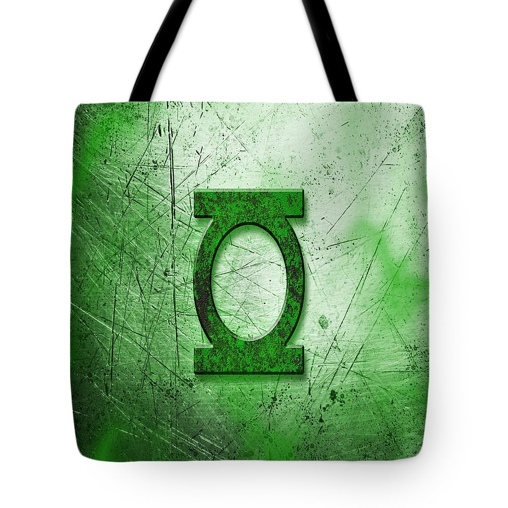 Tote Bag featuring the mixed media GL by Zachary Govitz