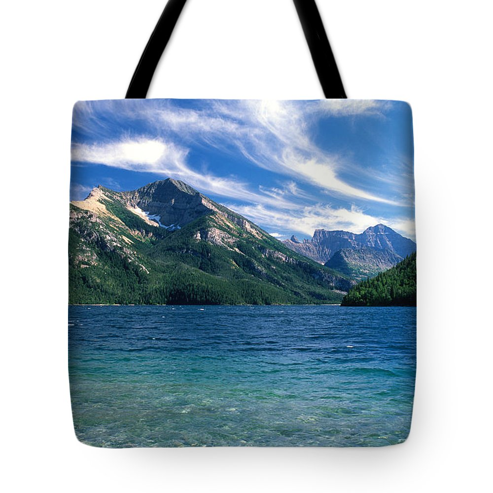 Glacier National Park Tote Bag featuring the photograph Glacier National Park by Sandra Bronstein