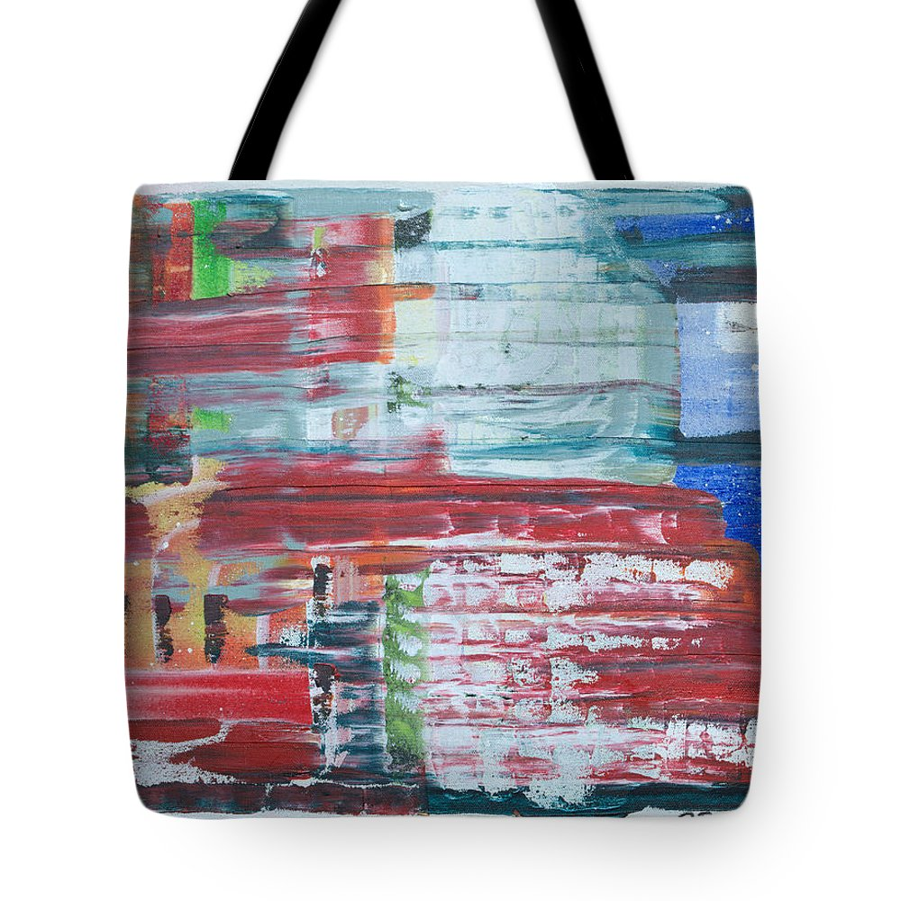 Impressionism Tote Bag featuring the painting Glass Blocks by J R Seymour
