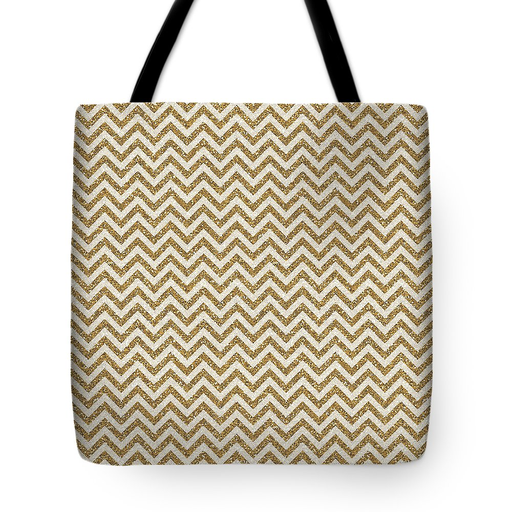 Tote Bag featuring the mixed media Glitter by Zachary Govitz