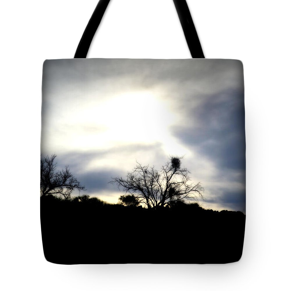Impressionism Tote Bag featuring the photograph Gloaming Epiphany by Nature Macabre Photography